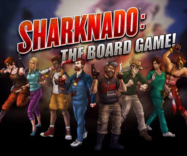 Sharknado: The Board Game: Roll Your Dice, Move Your Ass