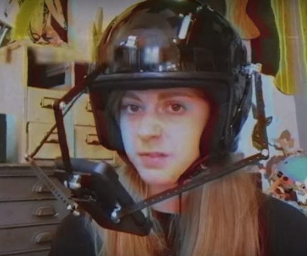 Simone Giertz Invents a Pokémon GO Helmet
