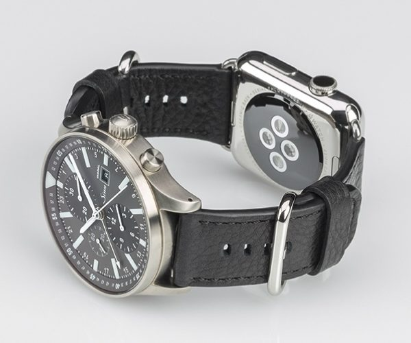 SINN Dual Strap Lets You Wear Apple Watch and Analog Watch on One Band