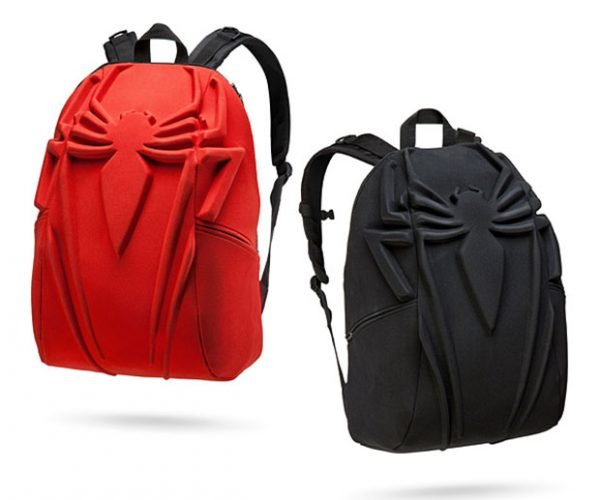 Spider-Man Backpack Holds Peter Parker's Papers
