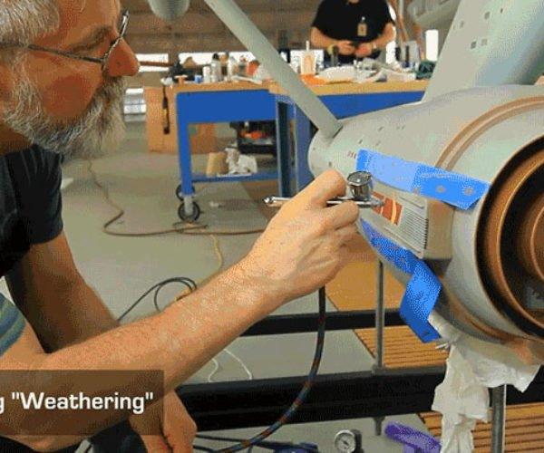 Inside The Smithsonian's Starship Enterprise Model Restoration