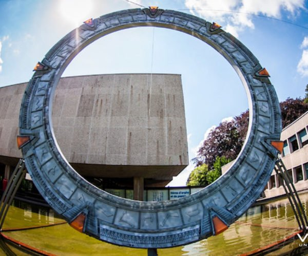Full-size 3D Printed Stargate Will Take You to a Museum