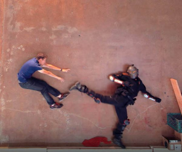 Awesome Stop-motion Fight Scene Ignores Newton's Law of Gravity