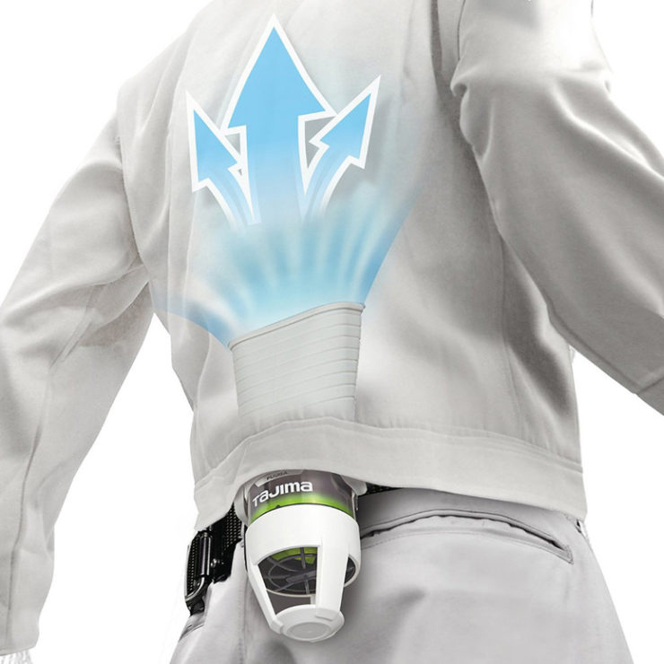Fan That Blows Cold Air >> Tajima Seiryo Jacket Cooling System: Chillicoat