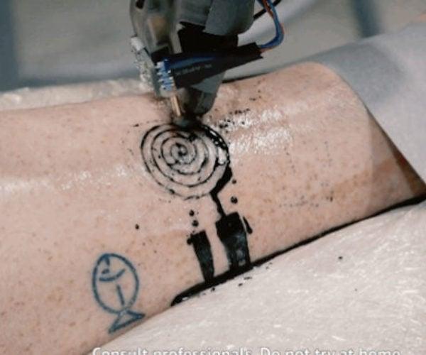 Robot Tattoo Artist: Ink Master 2.0