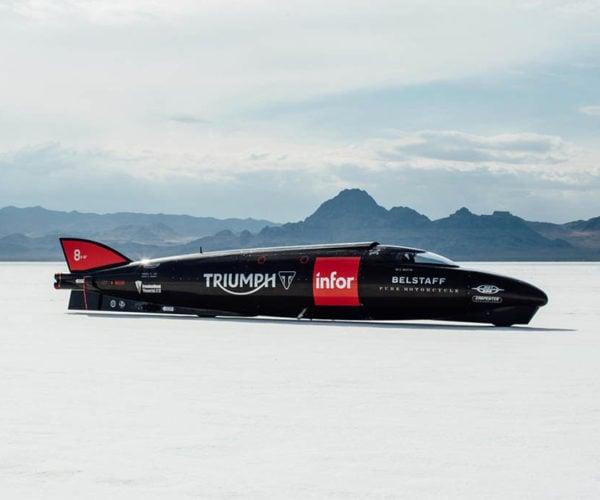 1,000 Horsepower Triumph Rocket Motorcycle Gunning for Land Speed Record