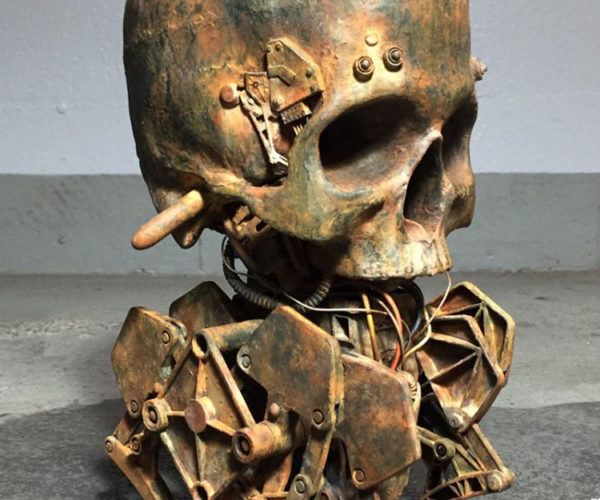 This Walking Mechanical Skull Your Daily Nightmare Fuel