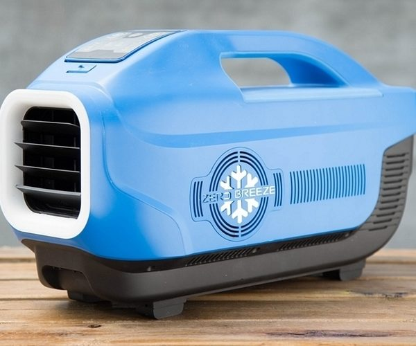 Zero Breeze Is a Battery-Powered and Portable Air Conditioner