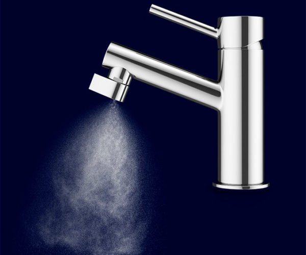 Altered: Nozzle Faucet Saves Water with Mist