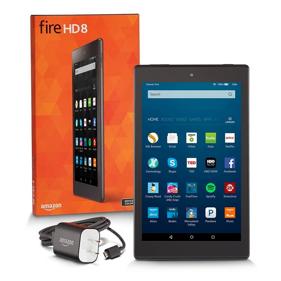 Amazon Fire Hd 8 Tablet Gets Alexa More Storage And