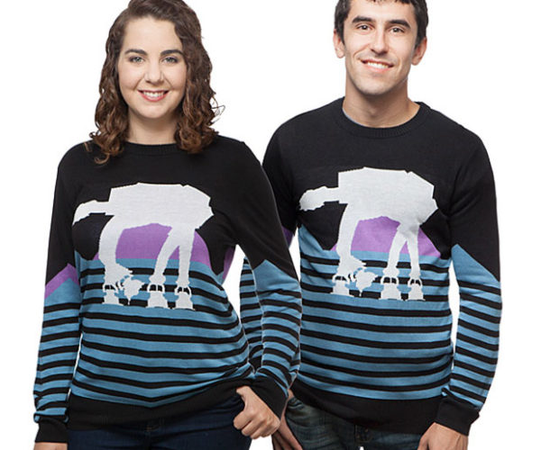 Ugly AT-AT Sweater Will Rule the Imperial Christmas Party