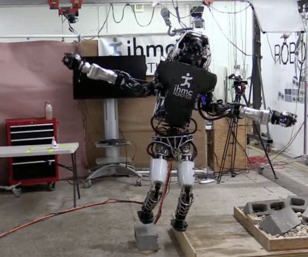 Boston Dynamics' Atlas Humanoid Robot Balances on One Foot