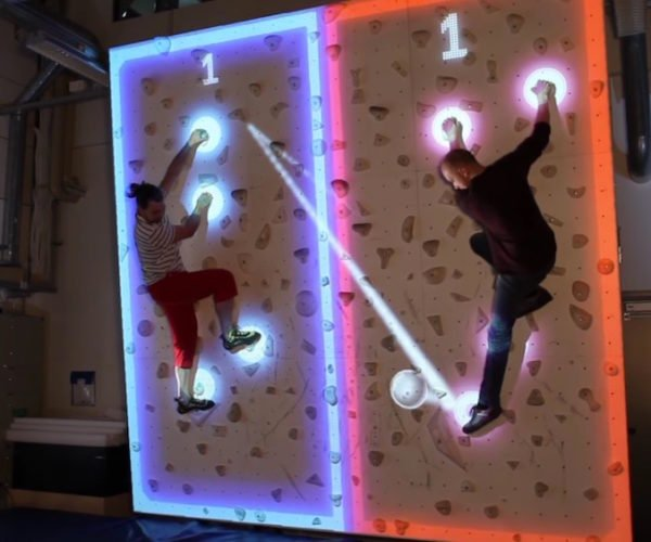 Pinball + Air Hockey + Wall Climbing = Climball