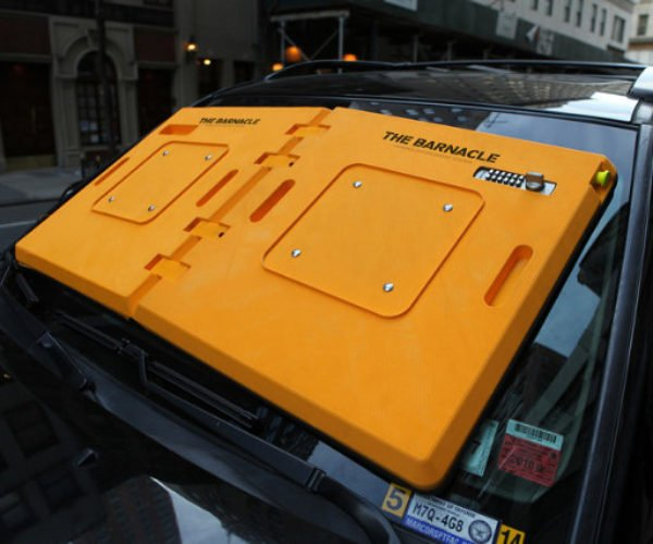 The Barnacle Creates a Sticky Situation for Parking Scofflaws