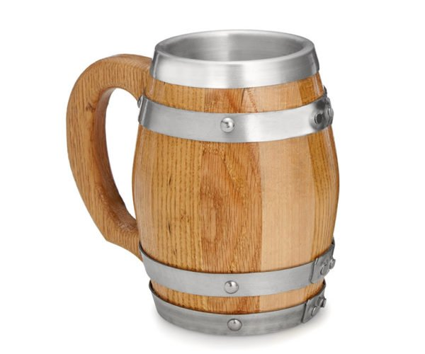 Barrel Mug Is Classy Way To Serve Beer
