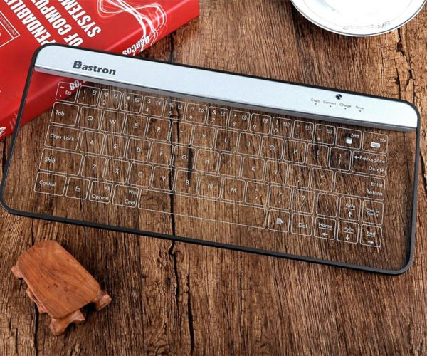 Deal: Save 45% on the Bastron B9 Glass Bluetooth Keyboard