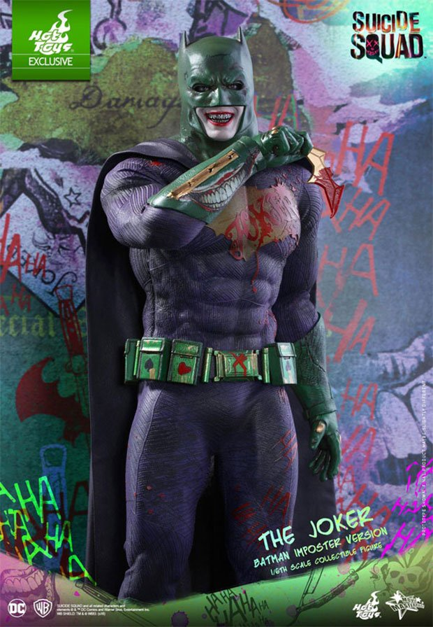 Batman Imposter Suicide Squad Joker Variant Figure