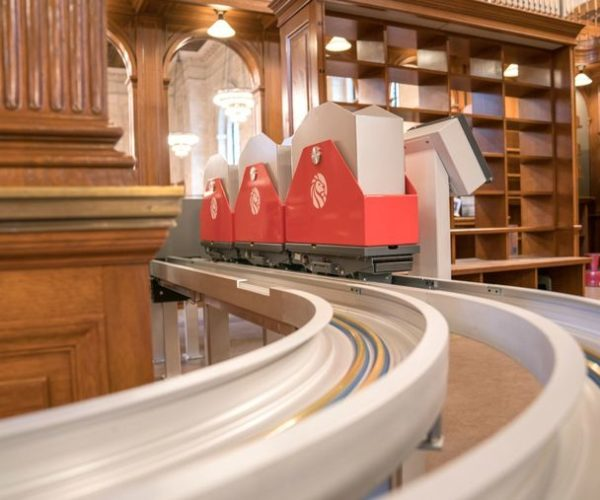 The New York Public Library Is Getting a Book Train