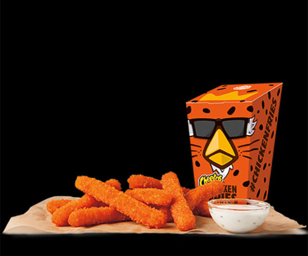 Burger King Cheetos Chicken Fries Will Turn Fingers Orange