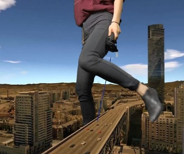 CityVR Lets You Stomp Around San Francisco like Godzilla
