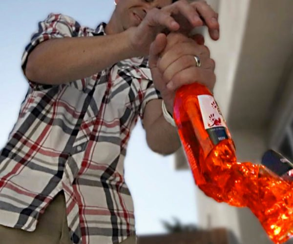 The Science of Breaking a Bottle With Your Bare Hands