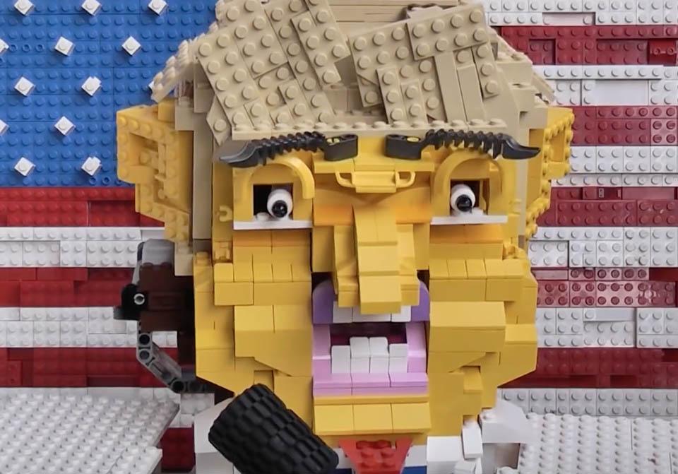 Lego Donald Trump Talking Head Is Hugely Creepy Technabob