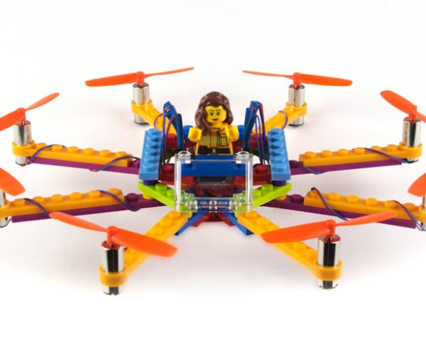 Build Your Own LEGO Drones with Flybrix DIY Drone Kits