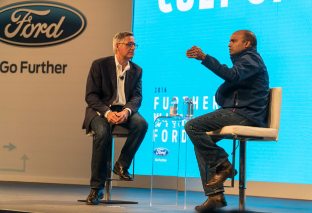 Ford EVP of Product Development, Raj Nair discusses his vision for autonomous vehicles with author Dan Lyons.