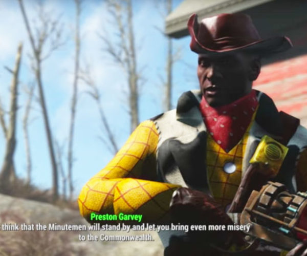 Preston Garvey Gets Pissed If You're a Raider in Nuka World DLC