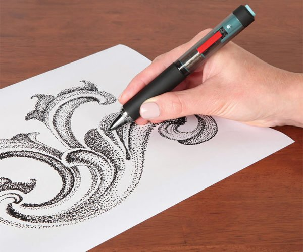 The Pointillist Artist's Electronic Pen