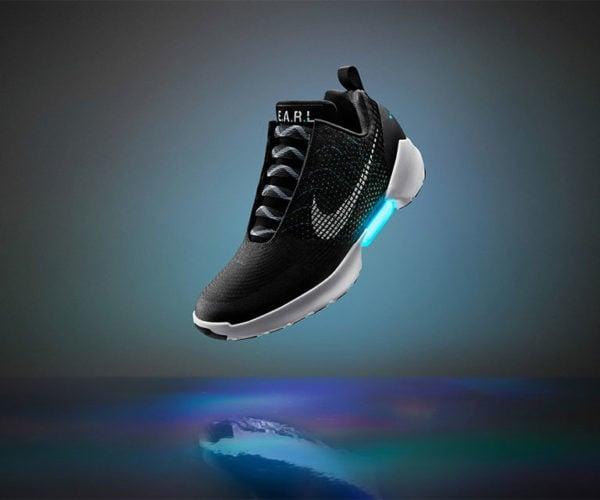 Nike HyperAdapt 1.0 Self-lacing Sneakers: HELLLOOO McFly!