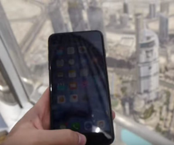 Some Jerk Drops an iPhone 7 Plus off the World's Tallest Building, Because Why Not?