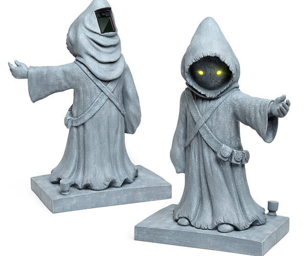 Star Wars Jawa Lawn Ornaments Are Ready to Scavenge Your Neighborhood