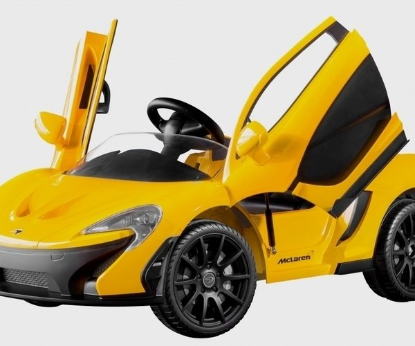 McLaren P1 Gets All-Electric Version (for Kids)