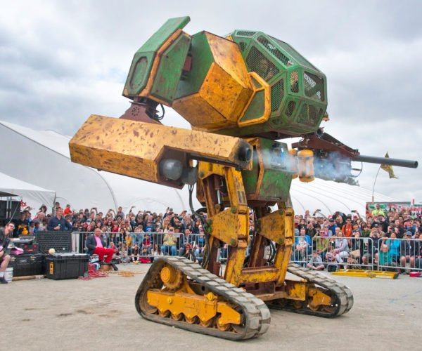 Megabots Season One Gets First Trailer: Giant Robots, Fight!
