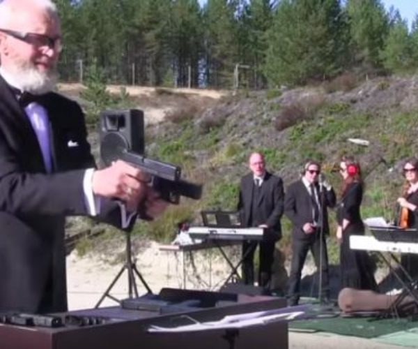 The Metallophon Is a Musical Instrument You Play with Bullets