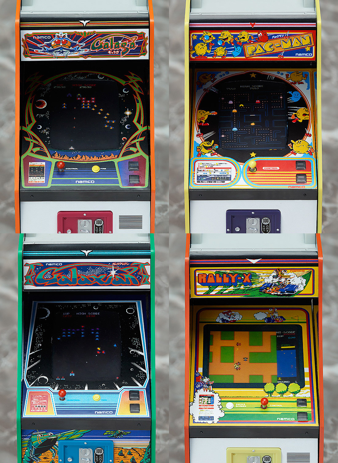 Namco Arcade Machine Collection Gives Action Figures