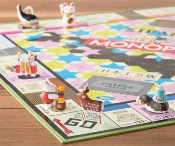 This Japanese Arts and Crafts Monopoly Set Has the Coolest Pieces Ever