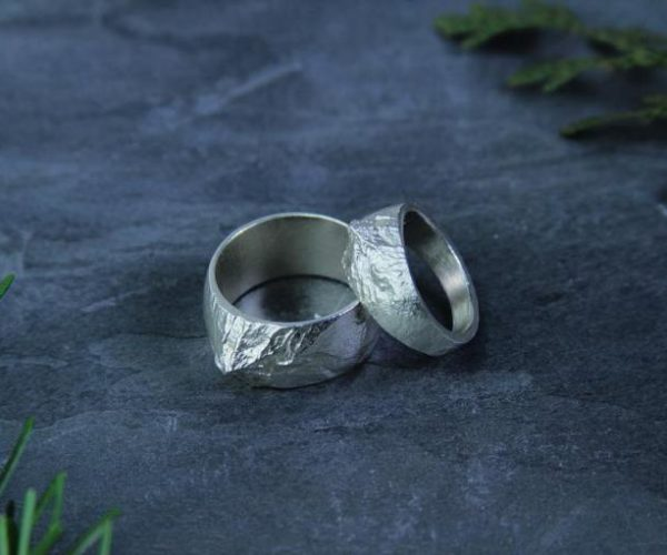 These 3D-printed Mountain Rings Are Created with NASA Data