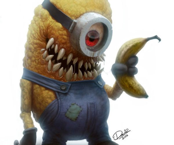 These Cute Cartoon Characters are Now Totally Horrifying