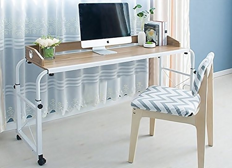 Unicoo Overbed Table Let S You Have Office In Bed Technabob