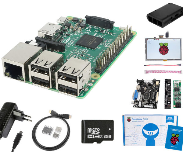 Bundle Deal: Raspberry Pi 3 Complete LCD Display Kit