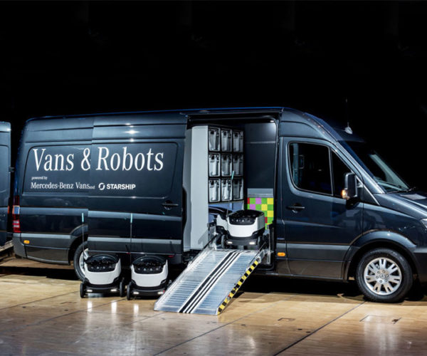 Starship Technologies Wants to Replace Delivery Drivers with Fancy Robovan Tech