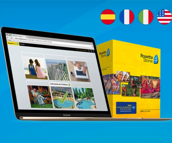 Deal: Learn a New Language with Rosetta Stone