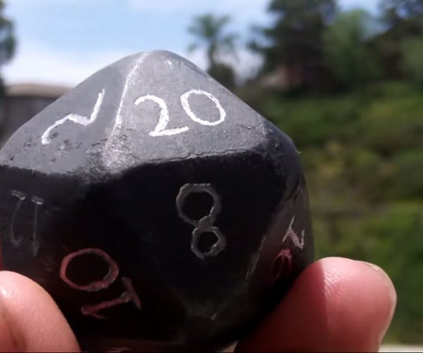 This Steel D20 Could Literally Kill the Demogorgon