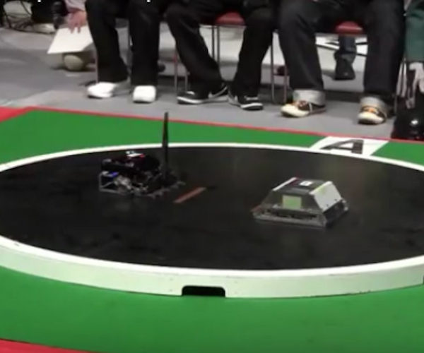Robot Sumo Wrestling: Push Bot to Play