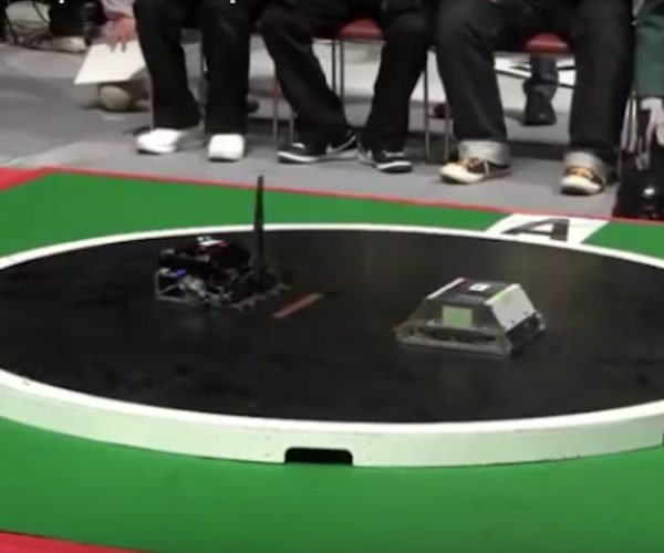 Robot Sumo Wrestling: Push Bot to Play