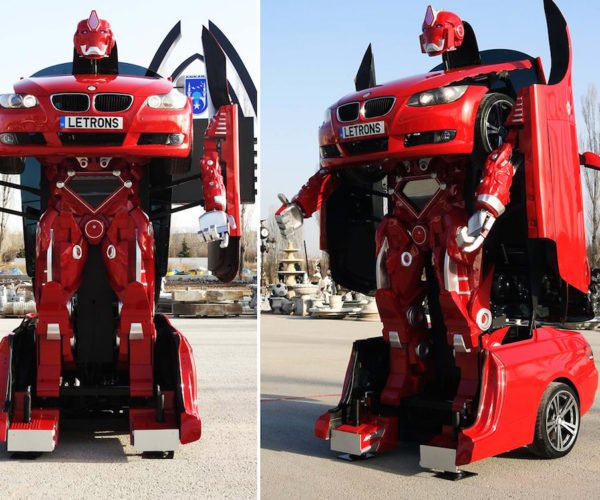 You Can Buy an Actual BMW Transformer