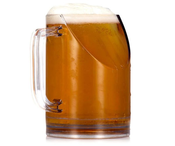 This Beer Mug Won't Block the TV When You Drink