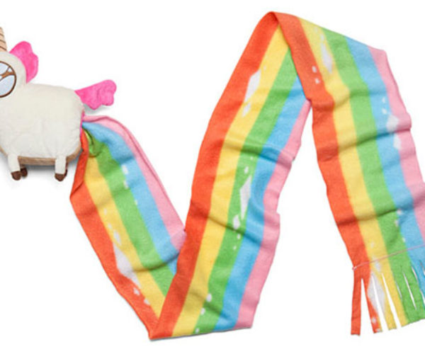 Unicorn Poop Scarf Plush is Buttifull